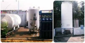 Hydrostatic Test and Cryogenic Tanks